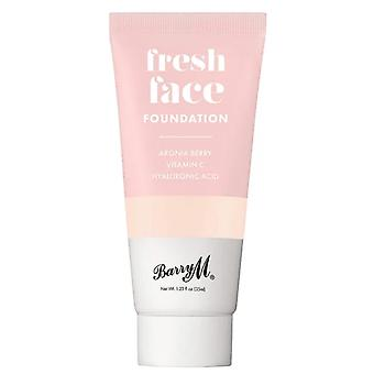 Barry M Fresh Face Liquid Foundation - Shade 1