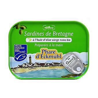 Brittany sardines in olive oil 135 g