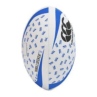 Canterbury Thrillseeker+ Rugby League Union Training Ball White/Black/Blue