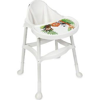 Baby Multifunktionell barnmatningsstol hopfällbar matbordsstol