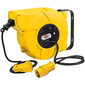 Brennenstuhl 1241003110 Automatic Cable Reel IP44 110V 16+2m