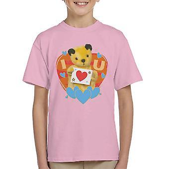 Noke I Heart You Valentines Kid's T-paita