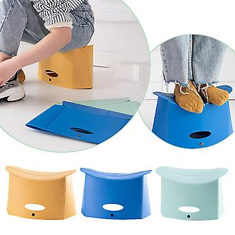 Folding Stool Household Thickening Portable Outdoor Chair Mini Maza Light Fishin