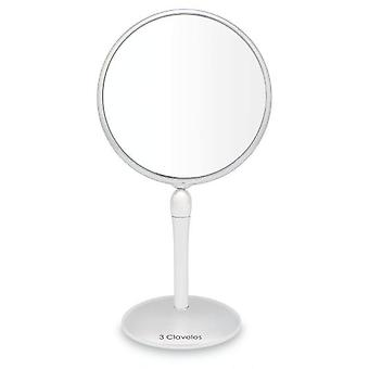 3 Claveles Make-up mirror with magnification and rotating base