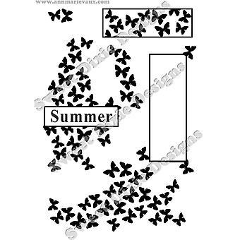 Sweet Dixie Ann-Marie Vaux Summer Cluster Stamp Set