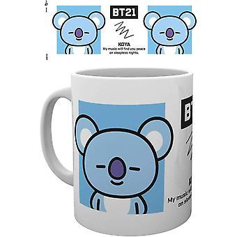 BT21 Koya Ceramic Mug