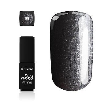 Silcare - Flexy - Hybrid gel - Farve: 58 - 4,5 gram