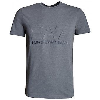 EA7 Miesten Harmaa T-paita