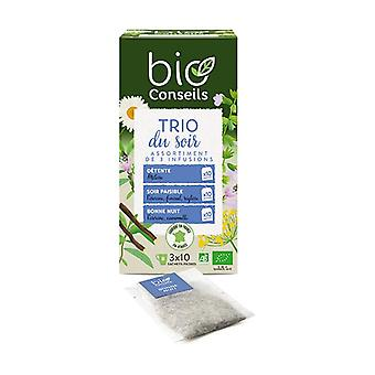 Organic Evening Trio Infusion 30 packets