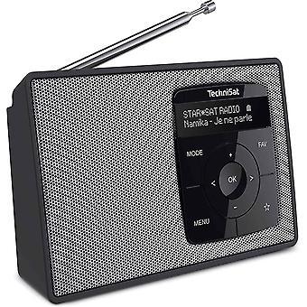 Wokex DIGITRADIO 2 - Tragbares DAB+/UKW-Radio mit Akku (mit Bluetooth Audiostreaming, Weckfunktion,