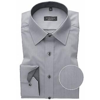 Eterna Mode Eterna Mens Big Size Non Iron Cotton Comfort Fit Plain Formal Shirt