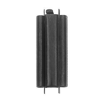Elegant Elements Beadslides, Seed Bead Slide End Tube Clasp 29x10mm, 1 Set, Black