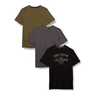 Tom Tailor Triplepack T-Shirt, 29999, S Men