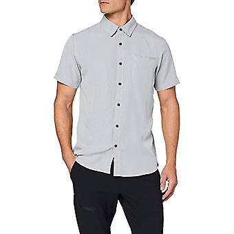 Columbia Nelson Point T-Shirt, Maglietta da Uomo, Carbon, White S, XL