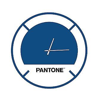 PANTONE Drive Klocka i blått, vitt, svart, metall L40xP0.15xA40 cm