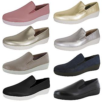 Fitflop Zapatos Superskate Loafer para Mujer