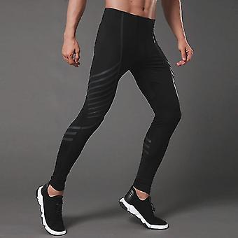 בגדי ספורט דחיסה אימון מכנסיים גברים ריצה סטים כושר