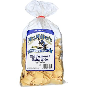 Mrs Millers Noodle Xwide, Case of 6 X 16 Oz