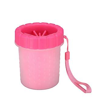 Dog Paw Cleaner Silicone Portable Pet Foot Cleaner Washer Cup