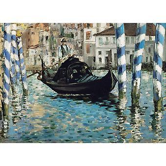 Eurographics Grand Canal de Venise (Venise Bleue), Puzzle Manet (1000 Pièces)