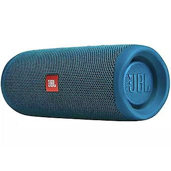 JBL Flip 5 altavoz Bluetooth a prueba de agua, Eco Edition - Azul
