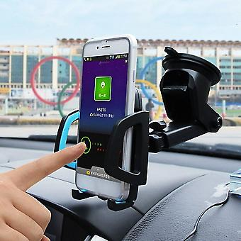 Uchwyt na telefon samochodowy Przyssawka Automatyczna wielofunkcyjna podstawka do montażu na telefon komórkowy
