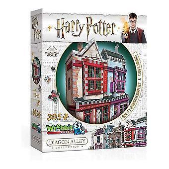 3D Puzzle Harry Potter Quality Quidditch Supplies, Slug & Jiggers Wrebbit (305 pcs)