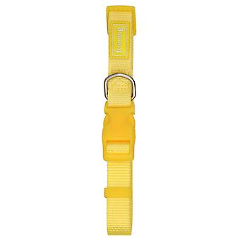 Freedog Basic Nylon Necklace Yellow (Dogs , Collars, Leads and Harnesses , Collars)