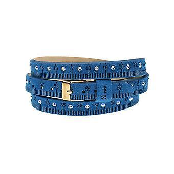 Il mezzometro strass leather bracelet  bms1310_s