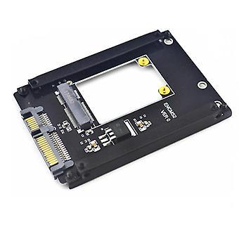 MSATA1S-N01 MSATA naar SATA 3.0 SSD PCI-E uitbreidingskaart 6 Gbps voor desktopcomputer