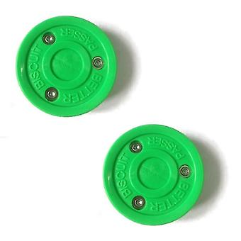 Biscuit Roller Hockey Training Puck High Quality Plastic