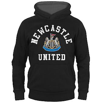 Newcastle United FC Boys Hoody Fleece Graphic OFFICIAL Football Gift