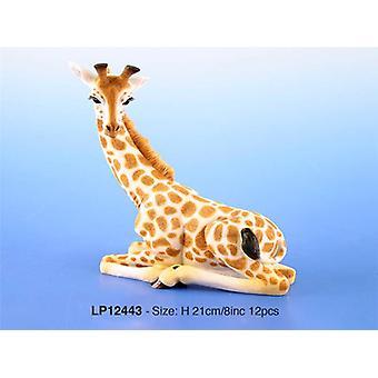Dekorative sittende Giraffe pryde små