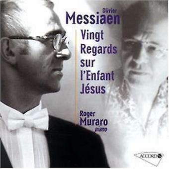 Roger Muraro - Vingt betrachtet Sur l ' Enfant Jesus [CD] USA import