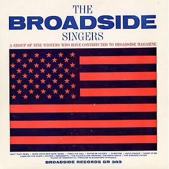 Costado de cantantes - Vol. 3-Broadside Ballads: importación de Estados Unidos cantantes Broadside [CD]