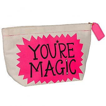 Sauvage & Wolf Hazel Nicholls vous êtes Magic Make Up Bag