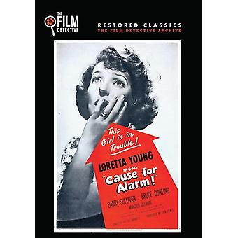 Cause for Alarm [DVD] USA import