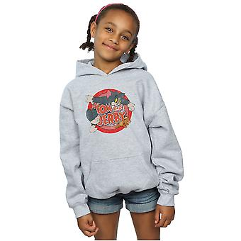 Tom And Jerry Girls Classic Catch Hoodie