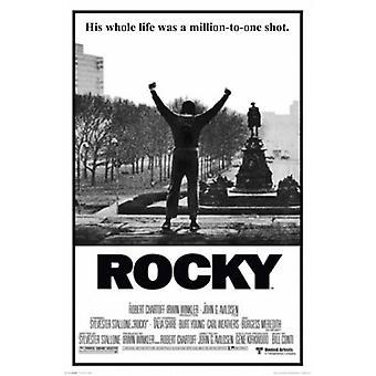 ロッキー - 彼の人生は 100万対 1 ロング ポスター ポスター印刷