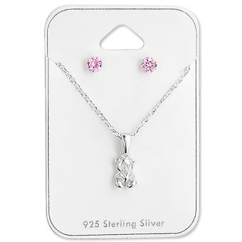 Bear - 925 Sterling Silver Sets - W28965x