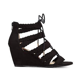 INC internationella begrepp Womens Witley tyg öppen tå Casual Strappy sandaler