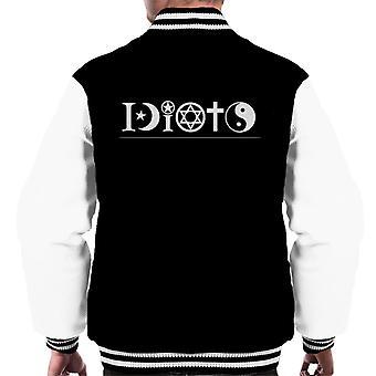 Religious Idiots Men's Varsity Jacket