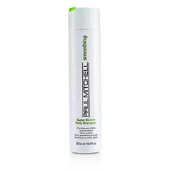 Paul Mitchell Smoothing super mager Daily Shampoo (slätar ut och mjukgör)-300ml/10.14 oz