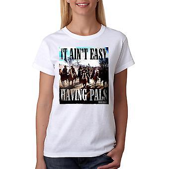 Young Guns Ain't Easy Women's White T-shirt