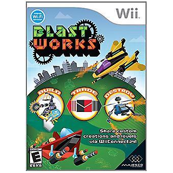 Blastworks (Wii)-in de fabriek verzegeld
