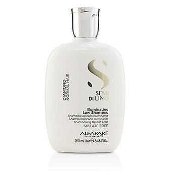 Alfaparf Semi Di Lino Diamond Illuminating Low Shampoo (normales Haar) - 250ml/8.45oz