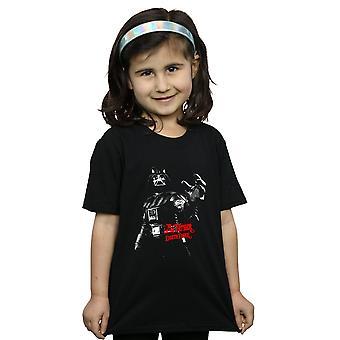 حرب النجوم الفتيات دارث فيدر أنا القميص الأب
