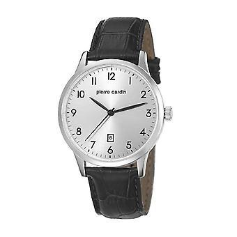 Pierre Cardin mens watch bracelet watch HENRI MARTIN leather PC106671F10