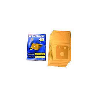 Electrolux aspiradora limpiador polvo bolsas - paquete de 5 (E5N)