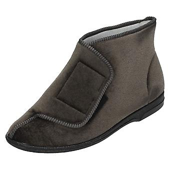 Mens Balmoral Bootee Slippers